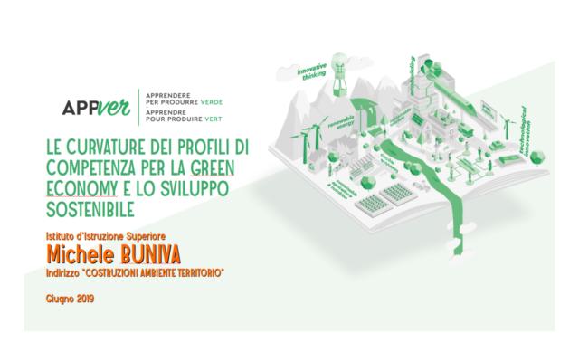 """Progetto """"A.p.p.Ver."""" (Apprendere Per Produrre Verde) - Green Economy"""