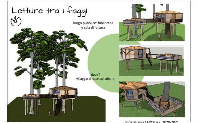 """Progetto """"casa sull'albero"""" laboratorio di architettura"""