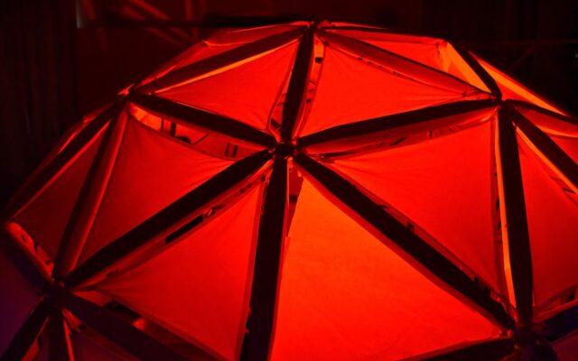 Progetto cupola geodetica laboratorio di architettura