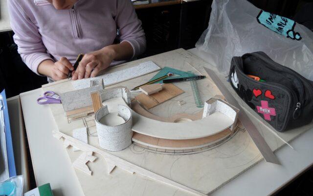 Maquette laboratorio di architettura