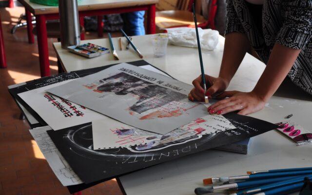 Laboratorio di discipline grafiche e pittoriche la progettazione